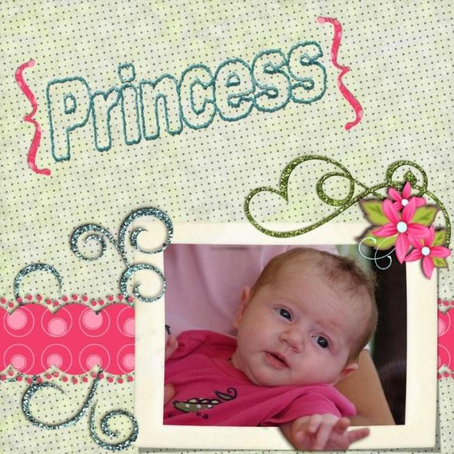 My Niece Chloe 2 months old.