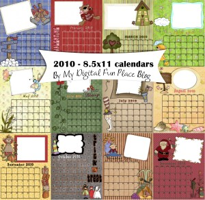 2010 Calendar Preview